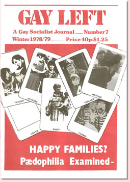 Gay Left Issue 7 cover