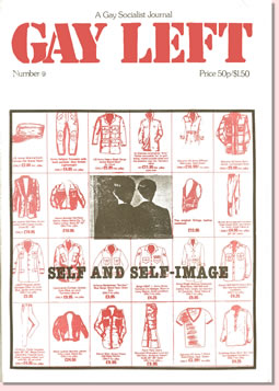 Gay Left Issue 9 cover
