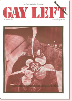 Gay Left Issue 10 cover